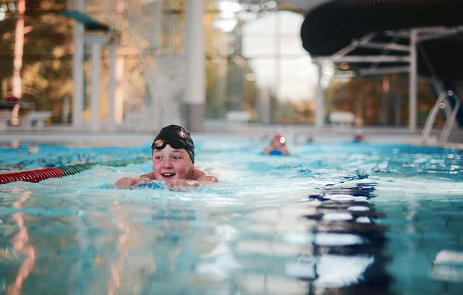 Testtime for nytt svømmekurs for barn den 11. mars
