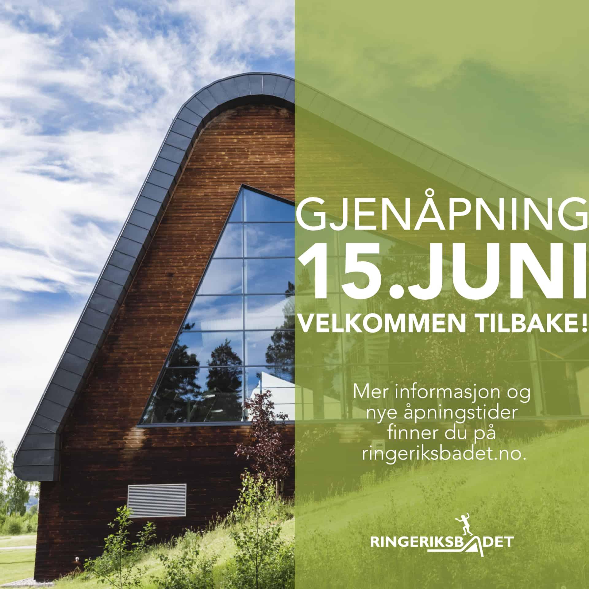 Vi åpner 15. juni!