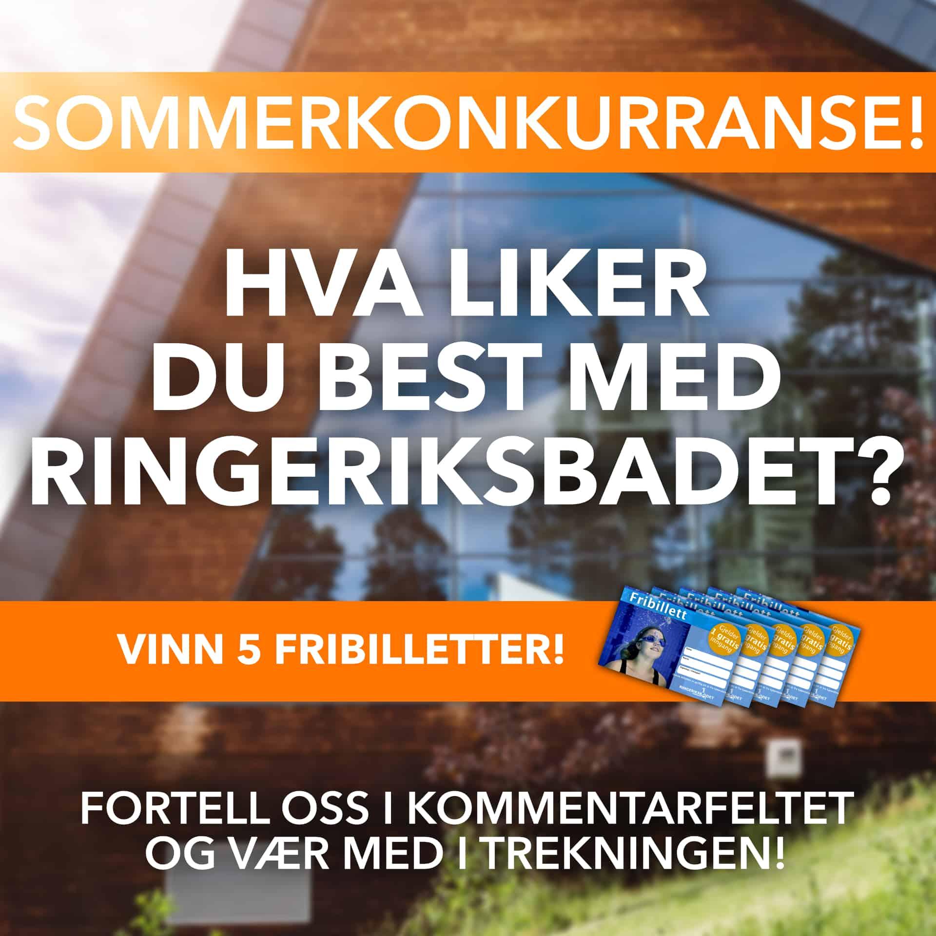 Sommerkonkurranse på vår Facebook-side!