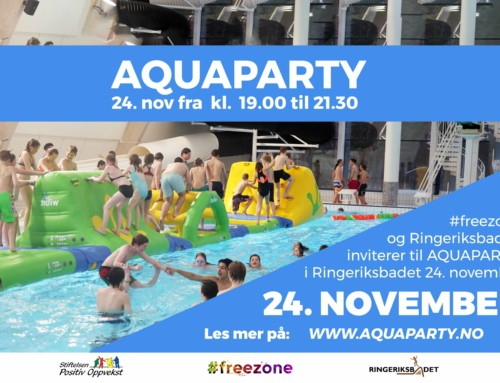 Aquaparty 24. november!