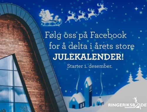 Det lønner seg å like Facebooksiden vår