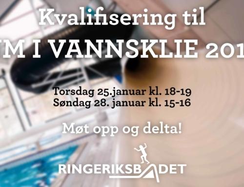 Kvalifisering NM i Vannsklie 2018