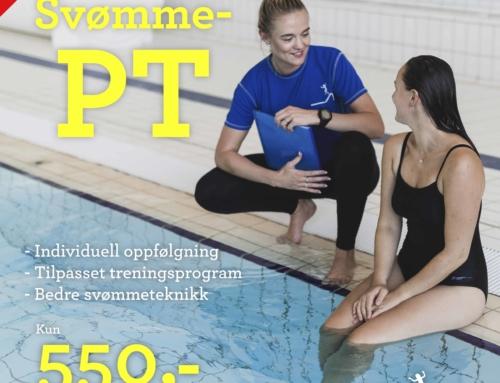 Nyhet! PT-timer i vann